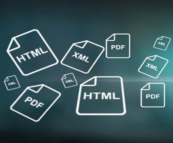 HTML-Data-conversion