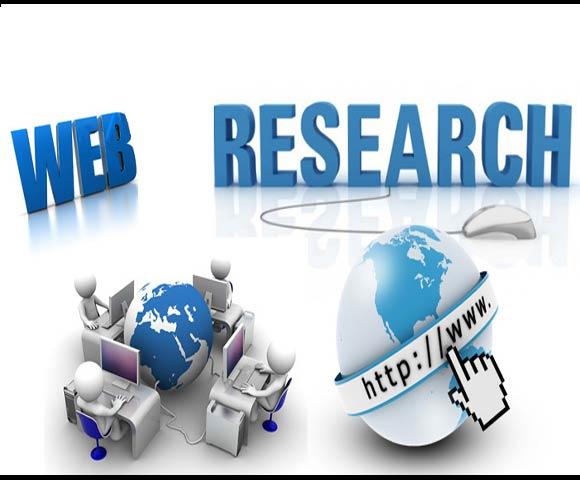 Web Data Research